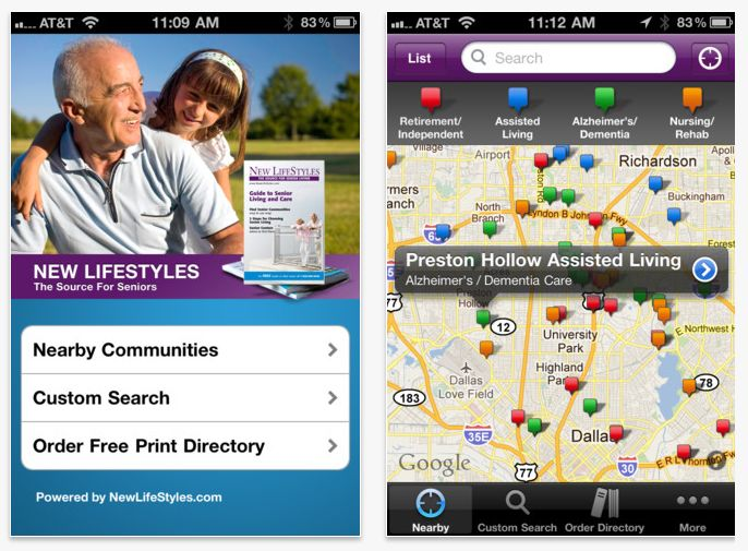 new lifestyles iphone app
