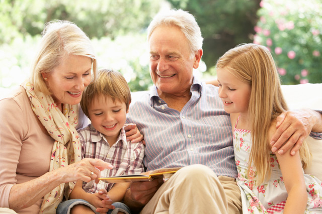 Close Grandparent and Adult Grandchild Bond is Good for Mental Health